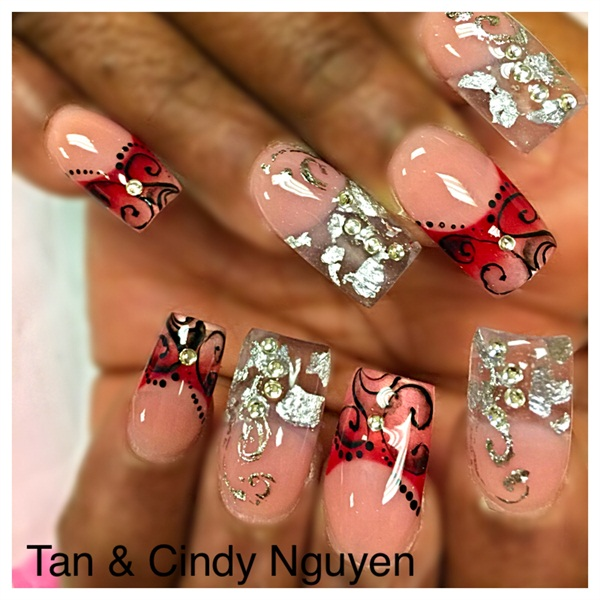 Day 126: Good As Glass Nail Art - - NAILS Magazine