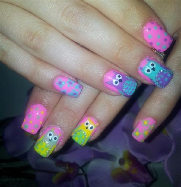 Day 137 animals with spots nail art nails magazine prinsesfo Images