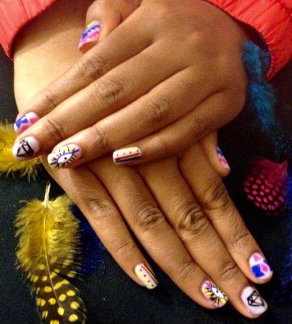 Tina Zavala Pretty Nails And Spa Akron Ohio