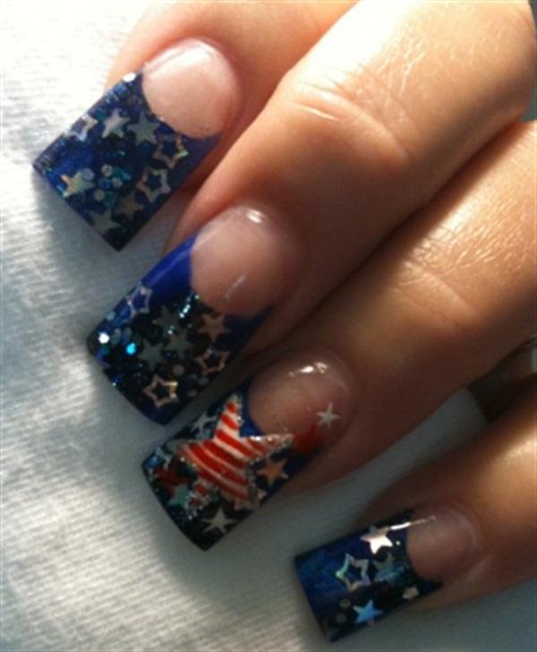 Day 145 Memorial Day Nail Art Nails Magazine