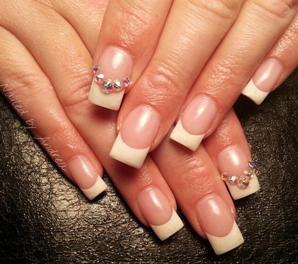 Day 152: Wedding Day French Nail Art - - NAILS Magazine