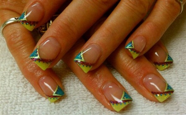 Day 159 Fun French Nail Art Nails Magazine