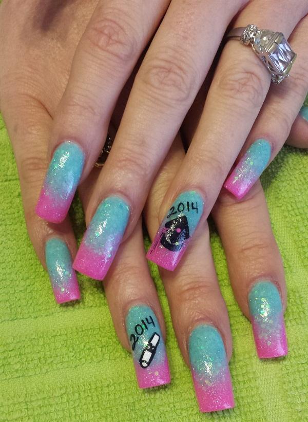 Day 165 Graduation Nail Art Nails Magazine