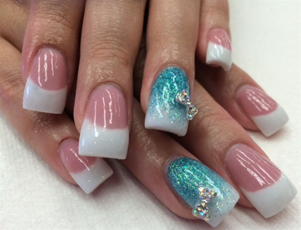 Day 178 bridal bow nail art nails magazine prinsesfo Image collections