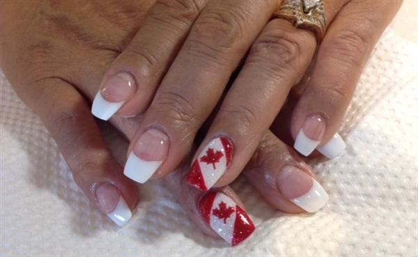 Day 182 Canada Day Nail Art Nails Magazine