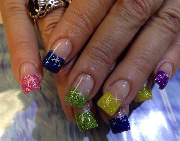 Day 199 Extra Sparkle Nail Art Nails Magazine
