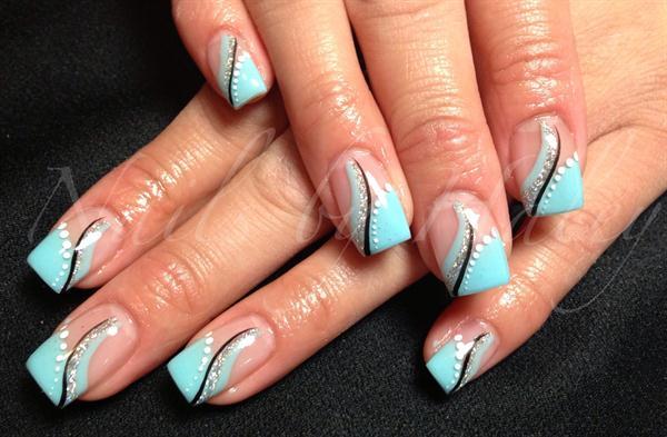 Day 205 Playful French Nail Art Nails Magazine
