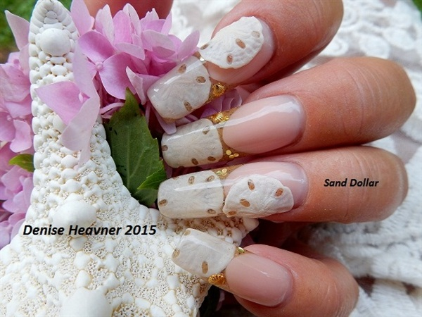 Day 213 Sand Dollar Nail Art Nails Magazine