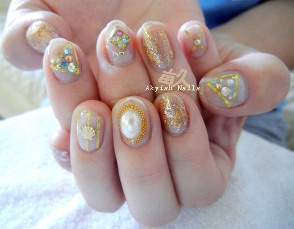 Day 214 On Trend Mani Pedi Nail Art Nails Magazine