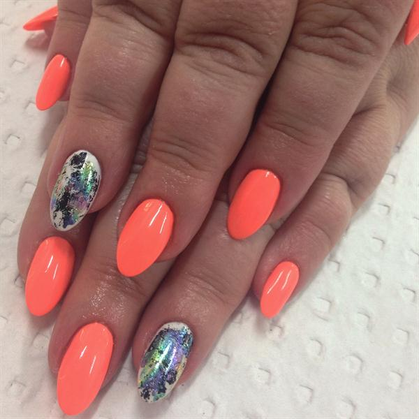 Day 216 contrasting color nail art nails magazine prinsesfo Gallery