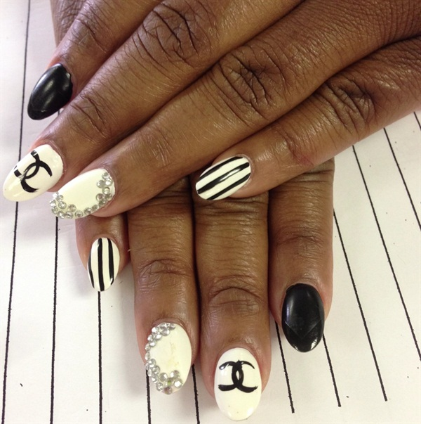 Day 24 Chanel Nail Art Nails Magazine