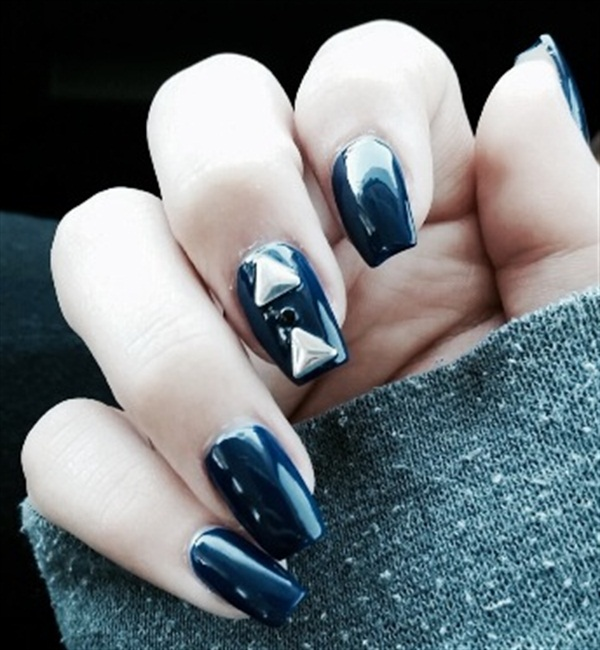 - Day 271: Light Metal Nail Art - - NAILS Magazine