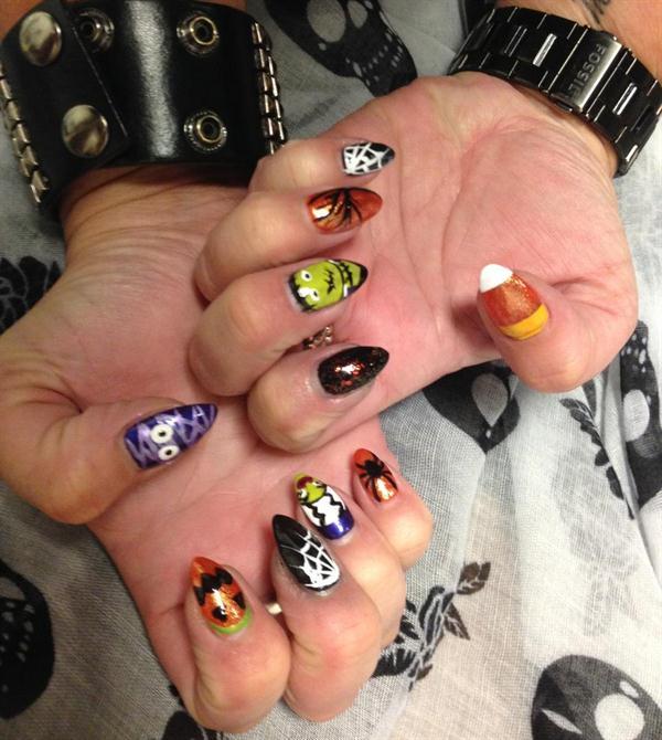 Day 277 Halloween Grab Bag Nail Art Nails Magazine