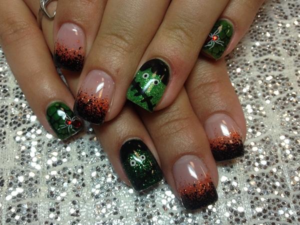 Day 278 Pretty Amp Scary Nail Art Nails Magazine