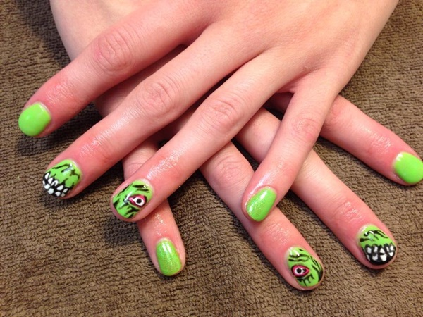 Day 284 Manicured Monster Nail Art Nails Magazine
