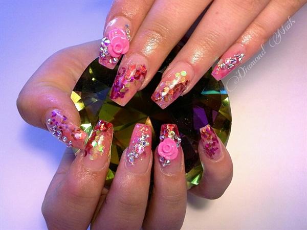 Amy Gustafson Diamond Nails Studio Victoria British Columbia Canada
