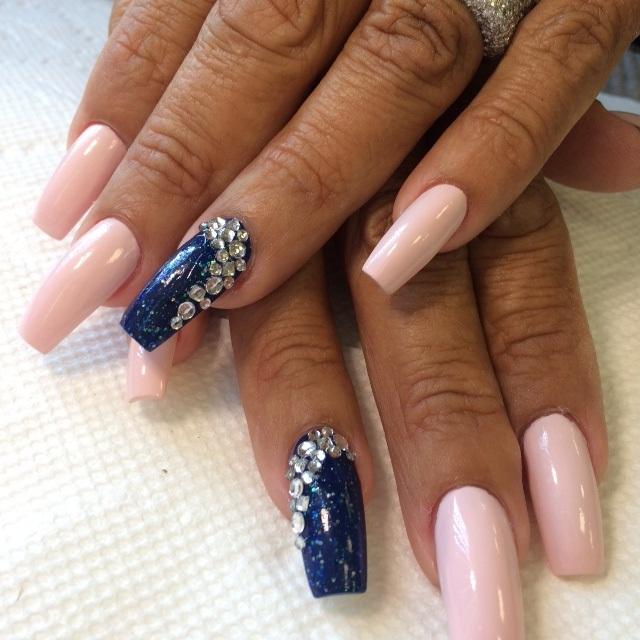 Day 29 Gem Cluster Nail Art Nails Magazine