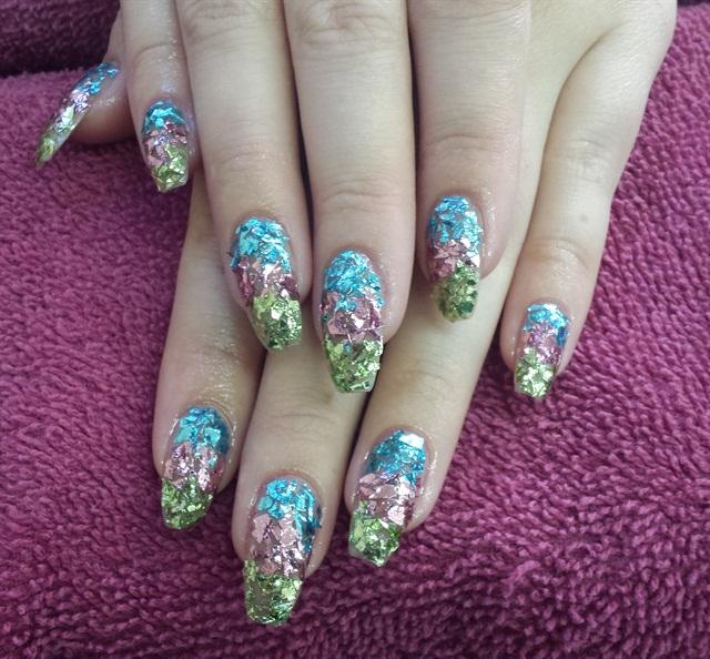 Day 30: Sparkly Shimmer Nail Art - - NAILS Magazine