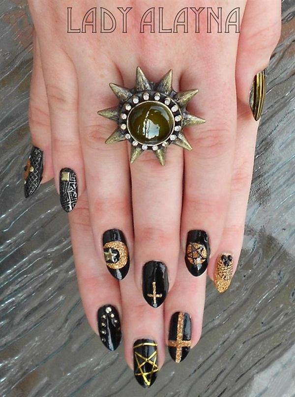 Day 300: Occult Nail Art - - NAILS Magazine