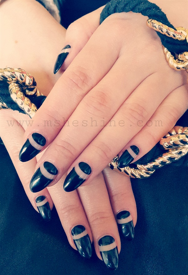 Day 316 Sleek Minimal Nail Art Nails Magazine