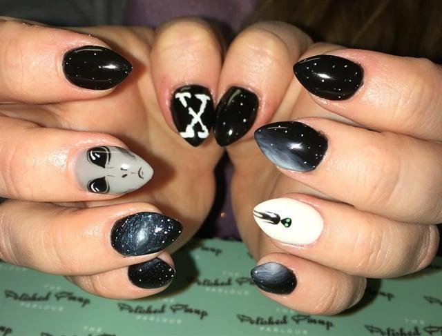 Line Art Nails : Day files nail art nails magazine
