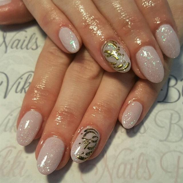 Day 332 Winter Glitter Nail Art Nails Magazine