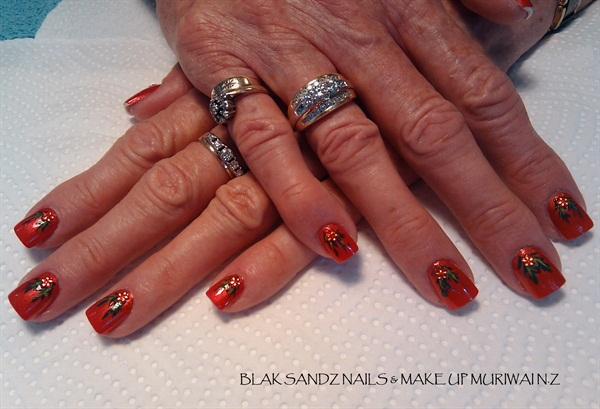 Day 337 Christmas Cheer Nail Art Nails Magazine
