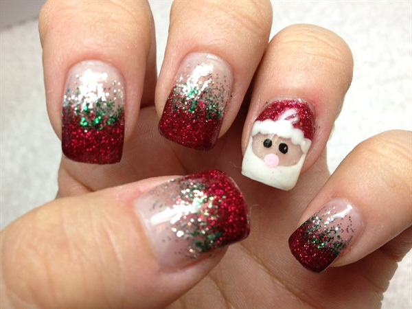 Day 338 santa friends nail art nails magazine day 338 santa friends nail art prinsesfo Choice Image