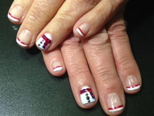 Day 354 santa snowman nail art nails magazine prinsesfo Images