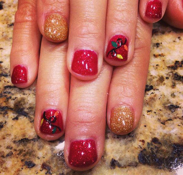 Day 359 Merry Christmas Nail Art Nails Magazine