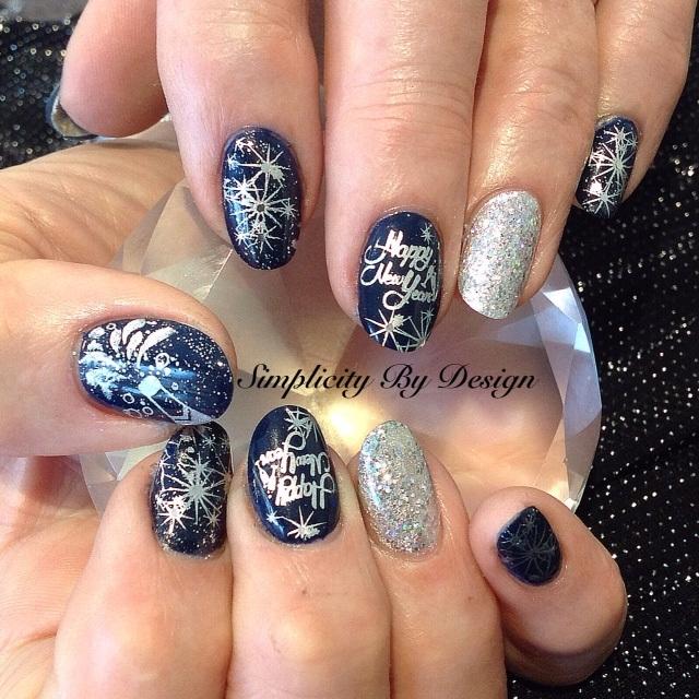 Day 365 New Year S Eve Nail Art Nails Magazine