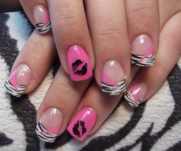 Day 41: In Love Nail Art - - NAILS Magazine