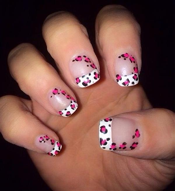 Day 58 Crosses Dots Nail Art Nails Magazine