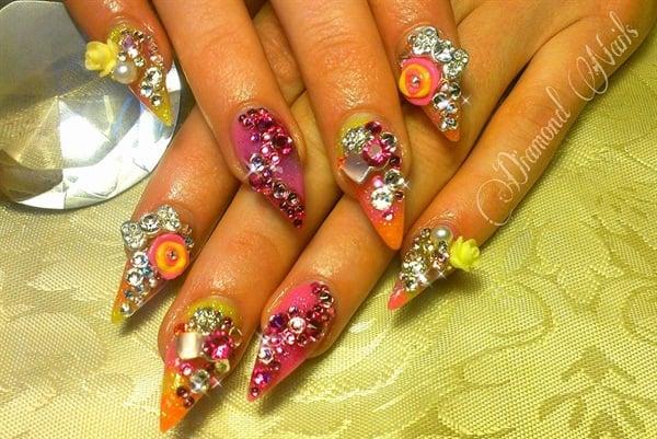 Day 59 fun fabulous nail art nails magazine amy gustafson diamond nails studio victoria british columbia canada prinsesfo Image collections