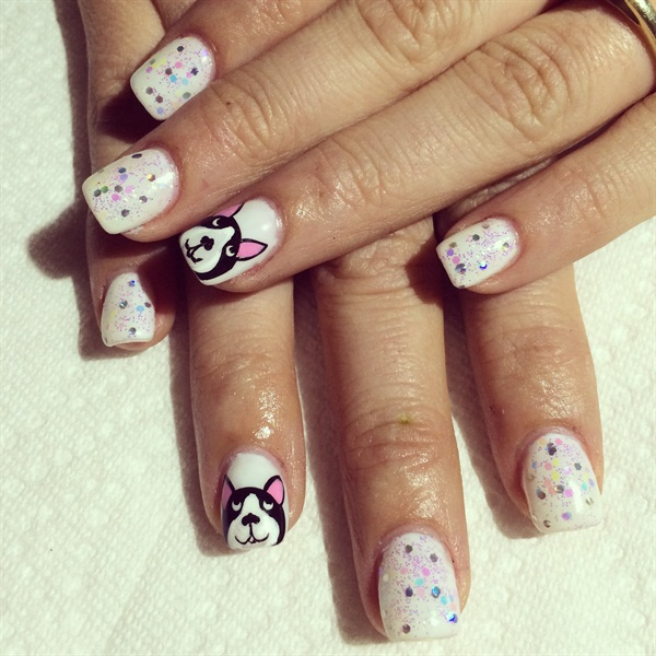 Day 64 mans best friend nail art nails magazine prinsesfo Image collections