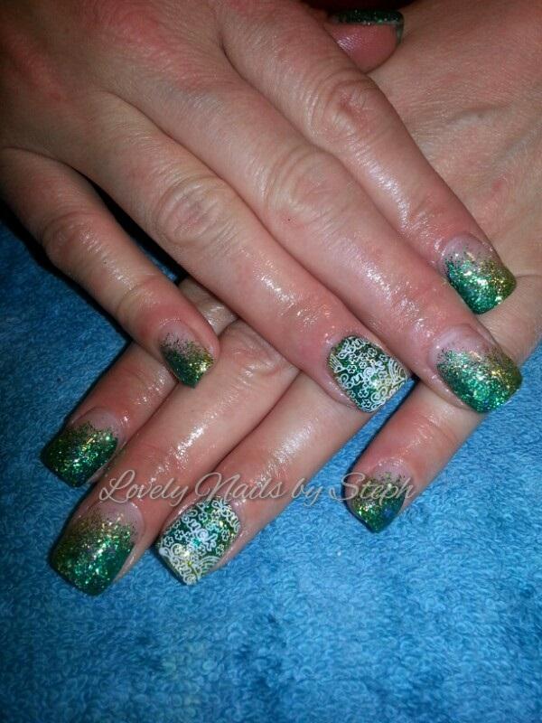 Day 76: St. Patrick\'s Day Nail Art - - NAILS Magazine