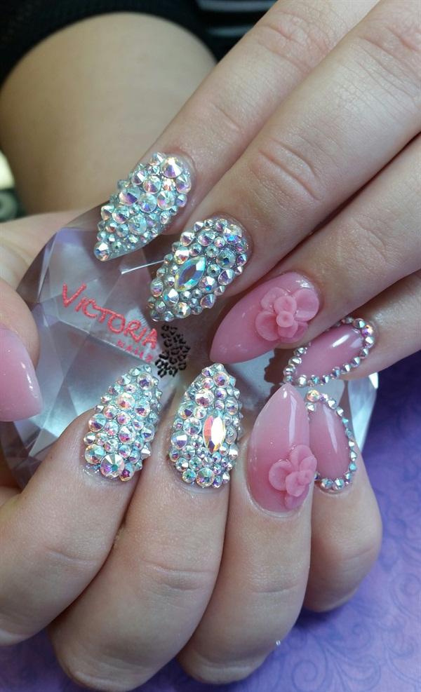 Day 92: Spring Gems Nail Art - - NAILS Magazine