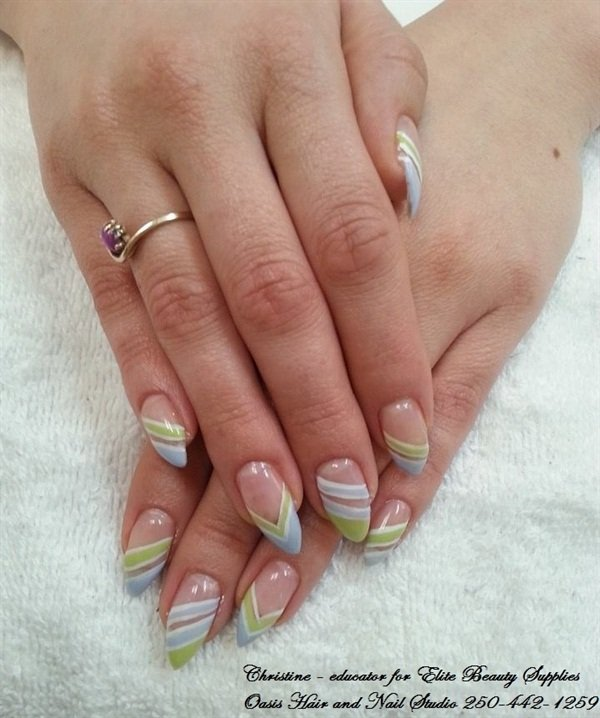 Day 99: In the Clear Nail Art - - NAILS Magazine