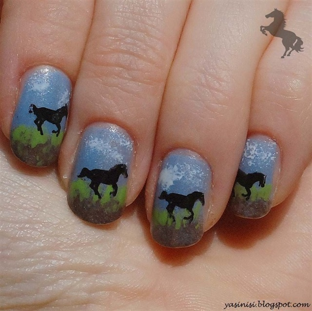 11 Nail Designs in Honor of the Kentucky Derby - - NAILS Magazine