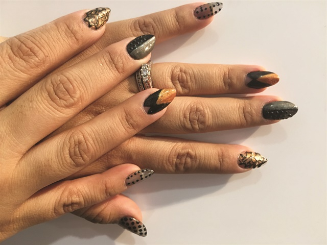 Referencing Rebecca Fashion Inspired Nail Designs Style Nails