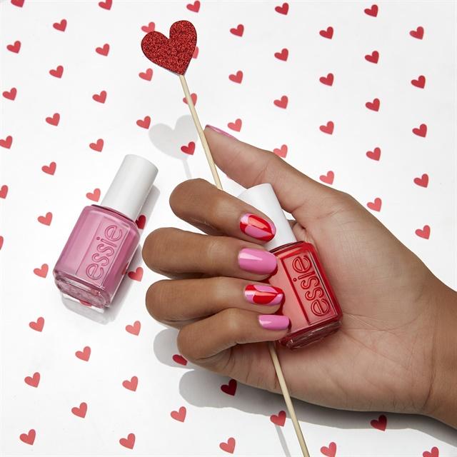Essie Valentine\'s Day Nail Art Tutorial - Style - NAILS Magazine