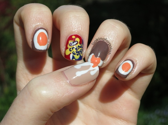 "<p>Via <a href=""http://www.lookingforpolish.com/2014/04/creme-egg-easter-nails.html"">Looking For Polish</a></p>"