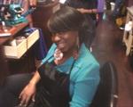 <p>Domestic Violence survivor Ebony Fletcher opened Ebbie's Hair Salon, Inc. in 2007.</p>