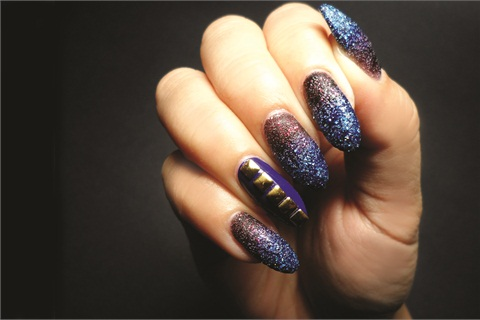 The Liquid Sand Gradient Manicure - Style - NAILS Magazine