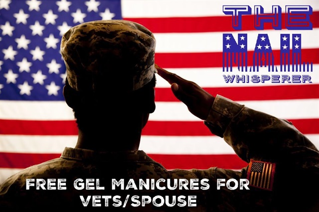 <p>Florida-based salon The Nail Whisperer will offer free nail services to vets and their spouses on Veterans Day.</p>