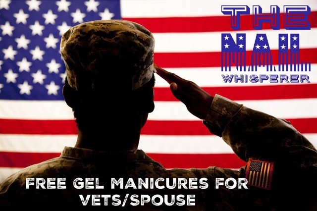 Florida-based salon The Nail Whisperer will offer free nail services to vets and their spouses on Veterans Day.