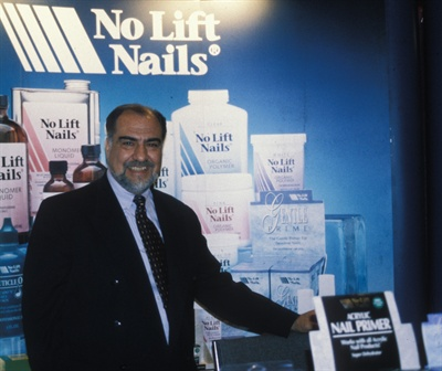 <p>Company founder Larry Gaertner in 1999.</p>