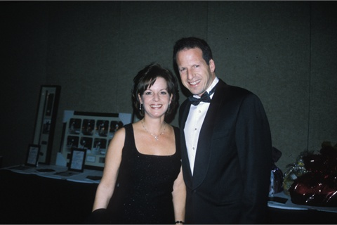 <p>Teresa and Larry Gaynor, 1999.</p>