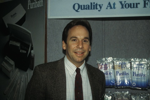 <p>Geof, shown here in 1997.</p>