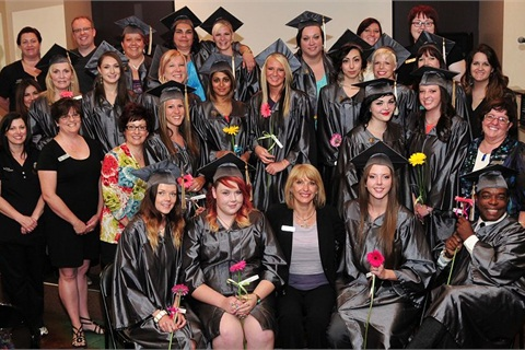 Upon graduation, Cameo students go on to work in salons and days spas across the Salt Lake Valley.